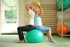 Physiotherapie im Rahmen der orthopädischen Rehabilitation