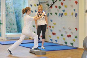Physiotherapie im Rahmen der Rehabilitation für Rücken und Wirbelsäule