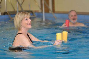 Wassergymnastik im Rahmen der Medizinischen Rehabilitation